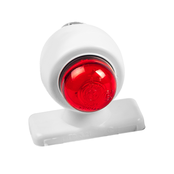 ГФ 3.21 LED2 белый корпус (простой рассеиватель)
