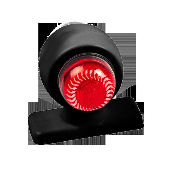 ГФ 3.21 LED2 черный корпус (рассеиватель хрусталик)