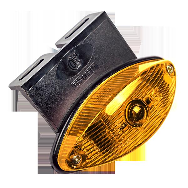 ГФ-2 К LED оранжевый (с кронштейном)