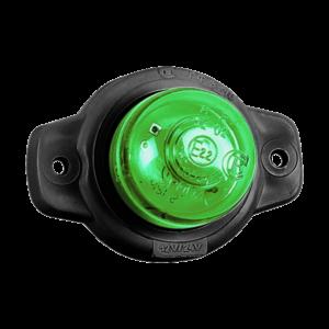 ГФ 3.18 LED2 «Шайба» зеленый (рассеиватель простой)