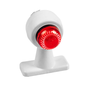 ГФ 3.22 LED2 белый корпус (рассеиватель хрусталик)