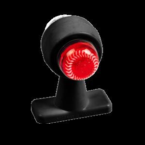 ГФ 3.22 LED2 черный корпус (рассеиватель хрусталик)
